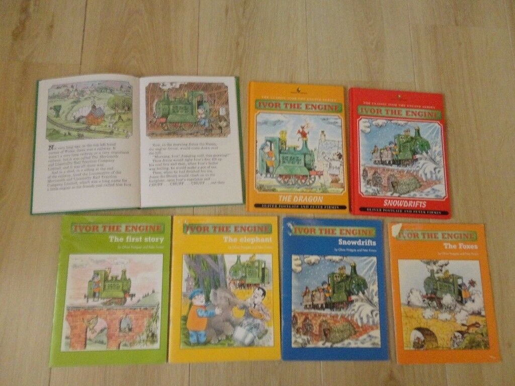 Ivor the Engine Books