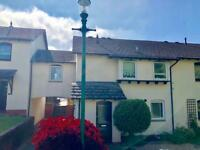Two double bedroom flat to rent with garage