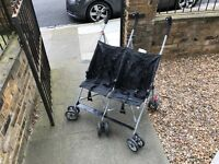 Foldable double stroller for pick up only in SW11