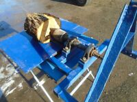 corkscrew log splitter