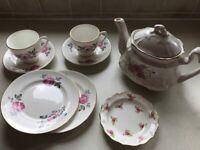 Vintage tea set - fine bone china