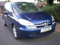 2005 (55) Peugeot 807 SE 2.0 16V 5 Door 7 Seat MPV, 1 Owner, Low Mileage, FSH - new cambelt
