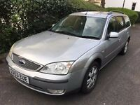2003 Ford Mondeo Estate, New Clutch, 14 Stamp Service History, April 2018 Mot
