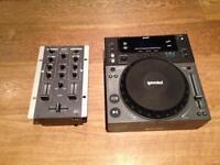 CDJ Deck & Mixer