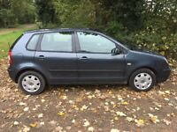 2002 Volkswagen Polo 1.4 MOT August 2018, Service History