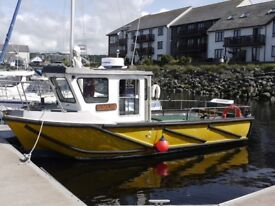 BJR Westeral 1998 fishing boat. Solidly built and an excellent fishing platform.