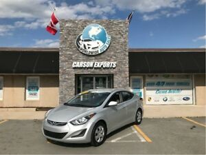 2015 Hyundai Elantra LOOK 6 SPEED! FINANCING AVAILABLE!