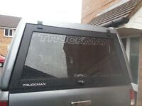 TRUCKMAN REAR canopy with safety cage for ford ranger