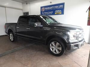 2016 Ford F-150 PLATINUM 4X4 SUPERCREW 3.5L