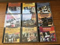9x CD's - Retrospective Jazz Blues 20's - 60's - Perfect condition some unopened