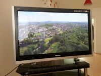 "Panasonic Viera 50"" Plasma Widescreen TV HDMI,HD, Fully Working Order"
