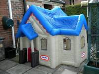 Childs inflatable playhouse