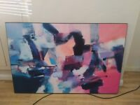 Jack Roberts abstract painting (88x132 cm)