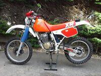 HONDA XR250R VINTAGE ENDURO 1987