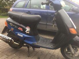 Piaggio Zip 70cc mk1 yasuni sports exhaust (swaps for geared bike)