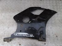 YAMAHA FZR 400 3TJ 4DX LOWER RIGHT SIDE FAIRING PANEL