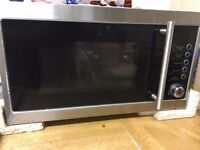 Tesco Microwave Oven with Grill, 20L - Silver MG2011