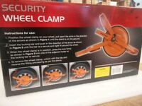 Brand New Heavy Duty Wheel Clamp