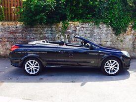 Vauxhall Astra 1.6 Convertible, Black, 68500 miles