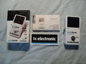 TC Electronic PolyTune. chromatic pedal tuner