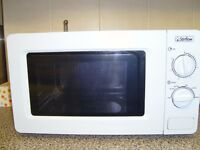 low wattage microwave for home or caravan