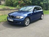 BMW 120d M sport 5 DOOR HATCHBACK LCI LE MANS BLUE 12MONTH-MOT WITH FULL SERVICE HISTORY px
