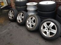 CAR ALLOY WHEELS - AUDI - MINI - VAUXHALL - RENAULT
