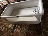 Chicco close to me bedside cot/crib
