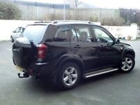 TOYOTA RAV4 XT3 MKII VVTI - BLACK - 2004 - FULL MOT