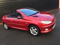 2004 Peugeot 206 CC Cabriolet, Very Low Miles, Just Serviced, Lovely Car