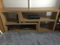 Next wood effect tv unit