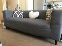 Ikea sofa w cushion