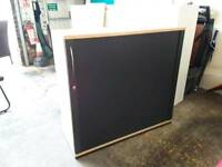 Office Tambour Units Mid-sized Excellent Condition - Delivery