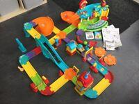 Vtech Toot-Toot Drivers Train Set Station & Garage