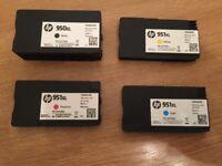 Brand New HP 951XL Ink Cartridges - Brand New - Original