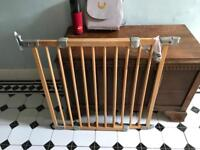 Mothercare wooden stair gate
