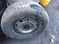 "Vauxhall Movano Renault master 16"" wheels tyres £25"