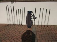 Golf Clubs Complete Set Including Clubs, Drivers, Bag and Trolley