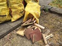 Log burner timber
