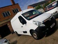2011 Vauxhall Movano L2H2 - 2.3 CDTI - Low Mileage - FSH - 3 Month Warranty - No VAT