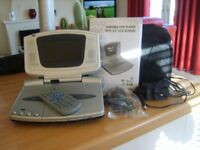 Portable DVD Player with 4.5 inch LCD Screen
