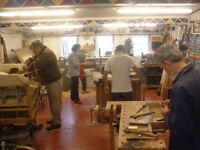 'MAKE and MEND' workshop in rural North Norfolk. Providing opportunites for creative woodworking!
