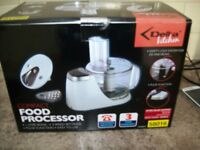FOOD PROCESSOR --NEW BOXED