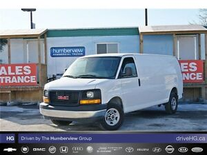 2017 GMC Savana 2500 CARGO EXTENDED|CHROME|4.8L V8|POWER WIN & L