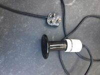 Ceramic heat emitter and holder