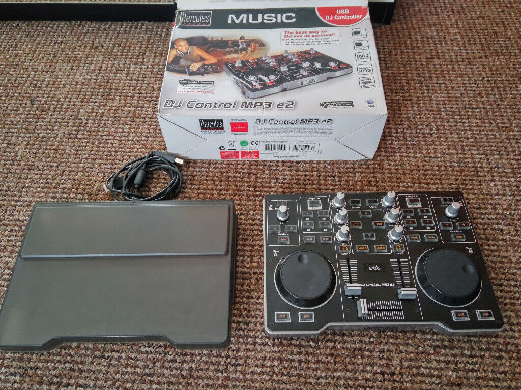 Hercules DJ Control MP3 e2 USB DJ Controller Music Sound Mixer | in Hull,  East Yorkshire | Gumtree