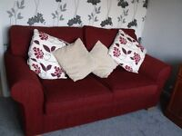 Very good quality sprung interior double Sofa Bed, very nice condition, very comfortable.