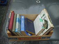 8 OLD FISHING BOOKS