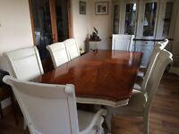 Beautiful Dining Table and Chairs Shabby Chic