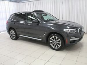 2018 BMW X3 30i x-DRIVE SUV w/ PREMIUM ENHANCED PACKAGE, HEAD